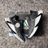 "Sepatu Nike Alphabounce x Yeezy Boost ""Core Black"""