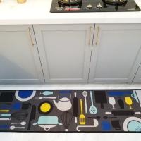 Keset Lantai Dapur Modern ukuran 50 x 180 cm Anti Selip - Kitchen Set