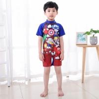 Baju renang anak laki laki swimsuit one piece diving avengers import