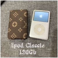 Ipod classic gen 7 silver 120Gb lumayan mulus bat awet langka nih