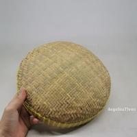 Ayaman bambu - ayakan bambu - saringan beras uk 45cm