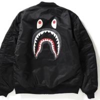 Jaket Bape Bomber Shark MA-1 ORIGINAL 1000%