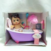 Mainan Mandi Anak Bath tub Baby Doll playset shower bak mandi boneka