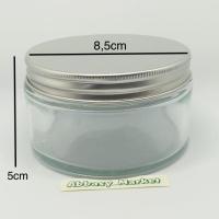 TOPLES JAR - KACA BULAT 250ML/STRAIGHT GLASS JAR