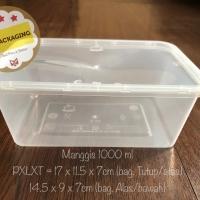 Kotak Makan Microwave / food box / wadah plastik 1000ml