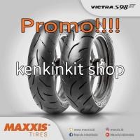 BAN LEXY - MAXXIS VICTRA S98 - sepasang 90/90 - 14 & 100/90 - 14
