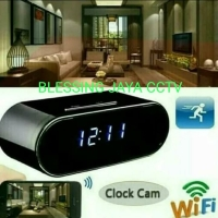 CAMERA CCTV SPY CAMERA 5MP HD SUPER ONLINE WIFI MODEL CCTV JAM MEJA