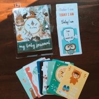 My Baby Journal jurnal buku bayi & Baby Selfie Card (LEBIH MURAH)