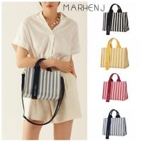 Marhen J Rico Mini Stripe Tas Canvas Korea - MJ Mirror