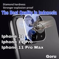Tempered Glass kamera back camera anti gores belakang 11 Pro max color - Iphone 11pro, black