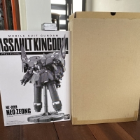 Bandai assault kingdom neo zeong gashapon gundam candy toy