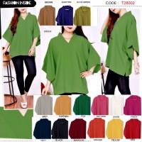 Rubina Blouse Baju Big Size Wanita Shirt - 3287 BGS
