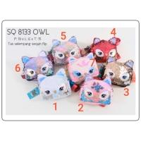 Sling Bag Anak Sequin Owl / Tas Selempang Anak Fashion Sequin Owl