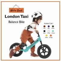 Sepeda anak balance bike london taxi