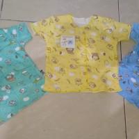 Baby Hoki+Baju bayi+ baju pendek newborn+print+Halus& Adem