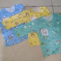 Baby Hoki+baju bayi+ Baju panjang newborn+motif printing bukan sablon+