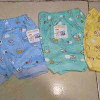 Baby Hoki/celana pendek bayi newborn/motif printing /buahhati ibubijak