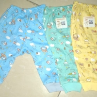 Baby Hoki/celana bayi buka kaki newborn/katun printing