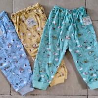 Baby Hoki/setelan bayi/celana panjang bayi 3-12bln/dasar wrn printing