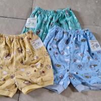 Baby Hoki/pakaian bayi/celana pendek bayi3-12bln/dsr wrn printing/adem