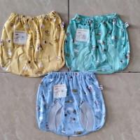 Baby Hoki/pakaian bayi/celana pop/celana kacamata bayi3-12bln/printing