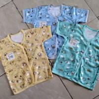 Baby Hoki/baju bayi/baju pendek bayi3-12bulan/print dasar wrn/halus