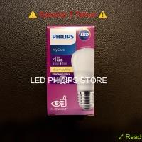 Lampu Bohlam LED Philips 4 Watt Kuning/Warm White (4W 4 W 4Watt)