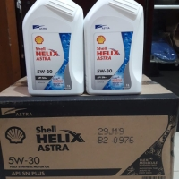 Oli Mesin Shell Astra kemasan New sae 5W-30