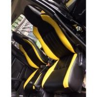 sarung jok mobil Daihatsu Ayla 2018 - 2020