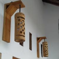 Lampu Bambu Hias