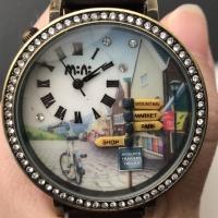 Mini miniature clay watch 3D korea MWE 1088
