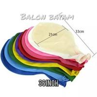 Balon latex Jumbo 36inch satuan