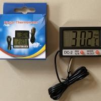 Digital Thermometer Akuarium Pengukur suhu dalam dan luar Akuarium