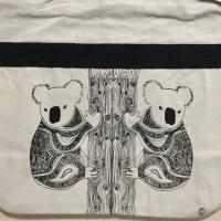 Ori souvenir australia large shopping bag/tas kanvas tote besar koala