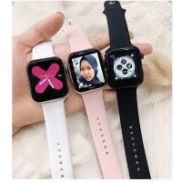 IWO 4 42/44mm (Bisa ganti foto) Apple watch look a like