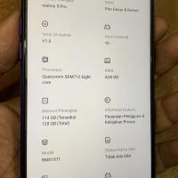 Realme 5 pro 4/128gb blue fullset resmi garansi panjang