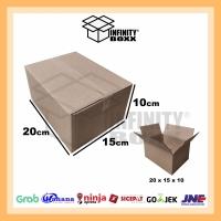 kardus box packaging packing 20x15x10 cm