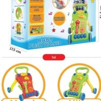 mainan bayi baby walker / trolley belajar jalan