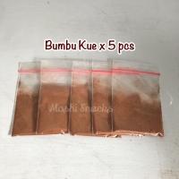 [5 PCS] Bumbu Kue Bangka / Bumbu Spekoek Lapis Legit / Bumbu Spekuk