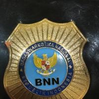 Kalung Dompet Badge BNN ( Asli Kulit )
