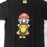 Kaos Baju Palaian Bape Milo Mario Ori