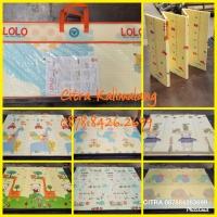 Baby playmat/karpet/matras lipat size 150x200 tebal 1 cm (RANDOM)