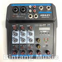 Mixer Ashley Speed Up 4 Original Bluetooth - USB recording 4 Channel