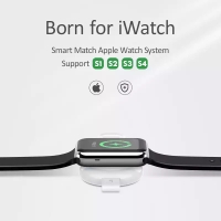 USAMS QI Wireless Charger for i Watch 4 3 2 1 Apple Watc