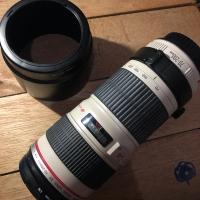 Canon lensa EF 70-200 F.4 USM