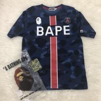 [ORIGINAL] BAPE x PSG Kaos Tee A Bathing Ape LIMITED EDITION!