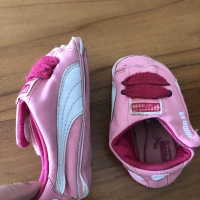 Puma baby shoes (us size 5)