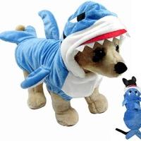 Kostum Hewan Kecil Shark ( Hiu ) / Shark Cosplay Dog / Baju Baby Shark