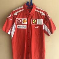 Official Crew Shirt Scuderia F1 Ferrari Puma Original Medium