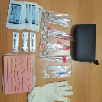 Paket Suture Practice Kit Training Pad latihan jahit dokter
